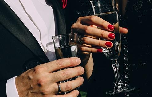 Weihnachtsfeier in Hannover – James Bond